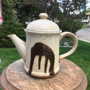 Vintage Japanese Pottery Tea pot stoneware